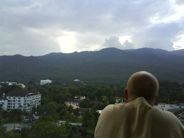View from the best apt in Chiang Mai