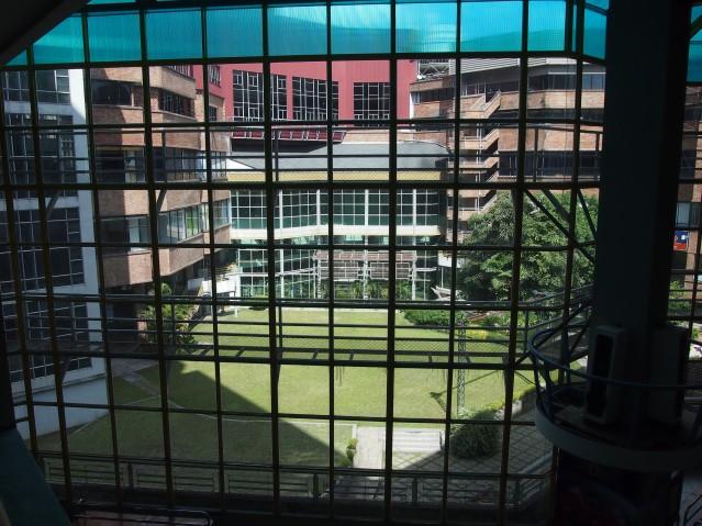 Kad Suan Kaew courtyard