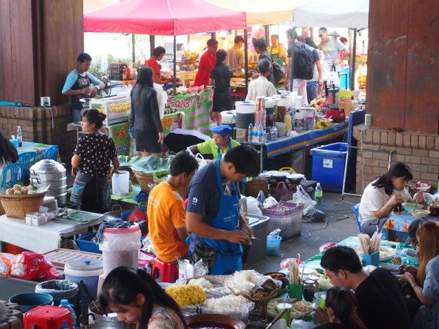 Foodmarked outside Kad Suan Kaew